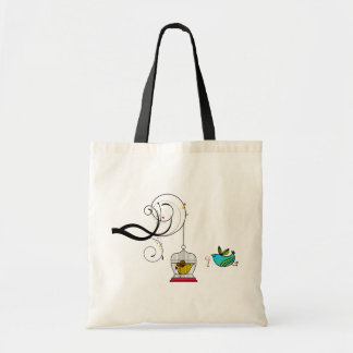 Birdcage Birds Tote Bag