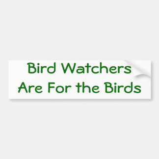 Birder Bumper Sticker