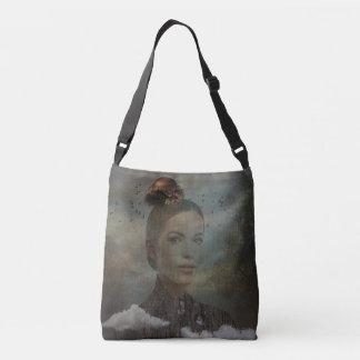 Birder Surreal Art Crossbody Bag