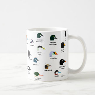 BIRDFACE Duck Mug (with labels)