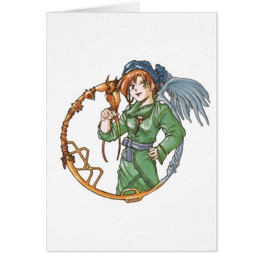 birdgirl card