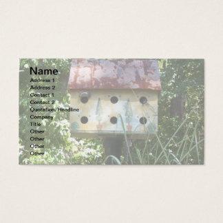 Birdhouse Business Card