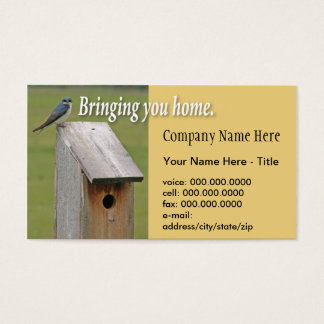 Birdhouse Business Card Shell