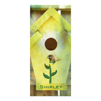 Birdhouse by Shirley Taylor Rack Card