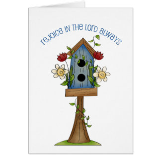 Birdhouse Love Country Prim Collection Note Cards