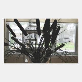 Birdhouse plant sticker