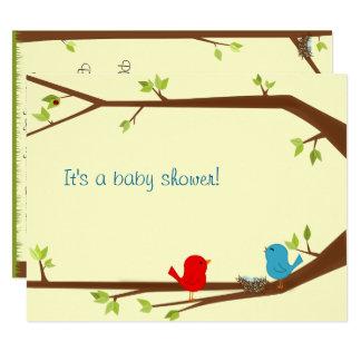 Birdie Baby Shower Invitation
