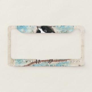 Birdie Chickadee Music License Plate Frame