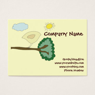 Birdie Chubby Website Card