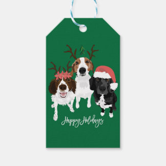 Birdie Foxy and Jack Holiday Gift Tags