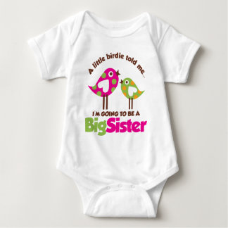 Birdie Going To Be A Big Sister T Shirts