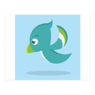 Birdie Icon Postcard