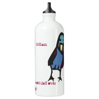 birdie, lean into the wind... water bottle