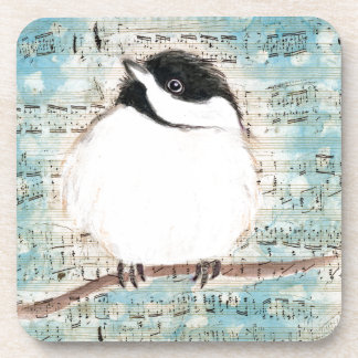 Birdie Music Song Coaster