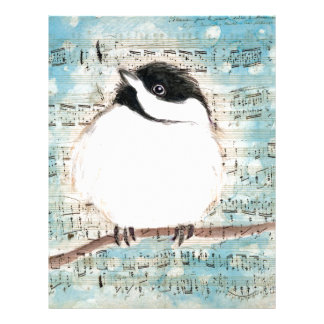 Birdie Music Song Letterhead