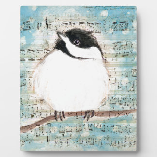 Birdie Music Song Plaque