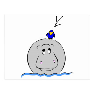 Birdie s Search for Hippo Postcard