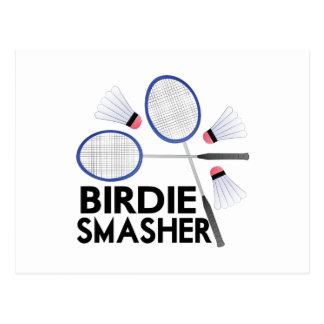 Birdie Smasher Postcard