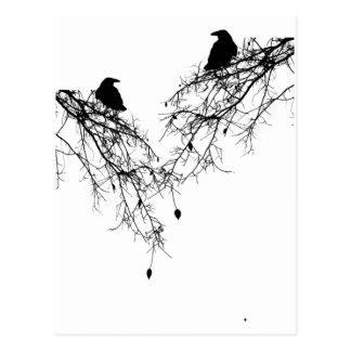 Birdie Tree Post Card