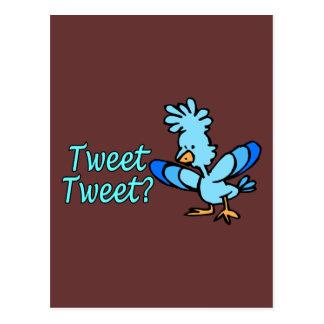 Birdie Tweet Tweet Postcard