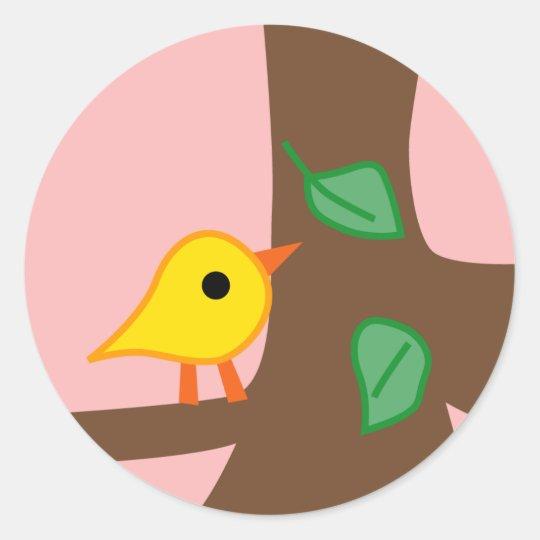 BirdieA7 Classic Round Sticker
