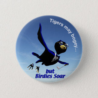 Birdies Soar 2 Inch Round Button