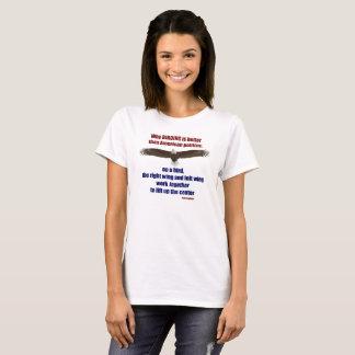Birding and Politics T - Women's T-Shirt