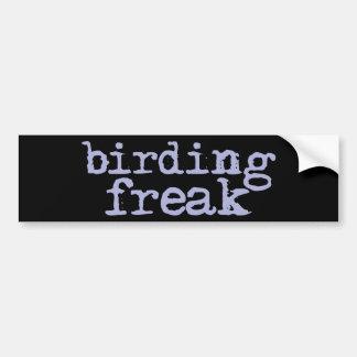 Birding Freak Bumper Sticker