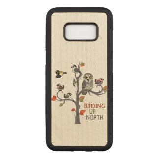 Birding Up North Carved Samsung Galaxy S8 Case