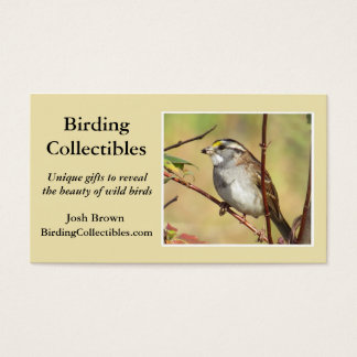 BirdingCollectibles business card