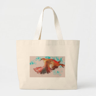 Birdman Large Tote Bag
