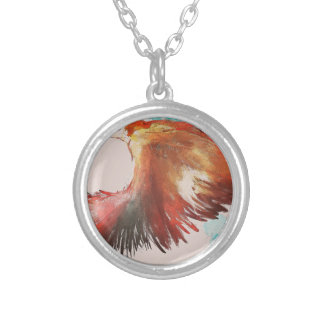 Birdman Silver Plated Necklace