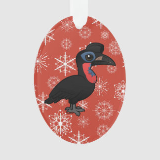 Birdorable Abyssinian Ground Hornbill Ornament