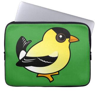 Birdorable American Goldfinch Laptop Computer Sleeve