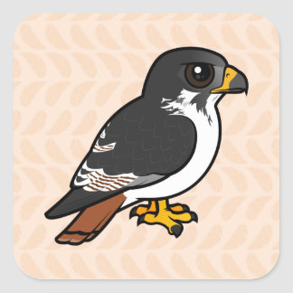 Birdorable Augur Buzzard Square Sticker