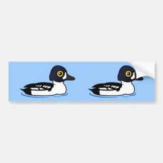 Birdorable Barrow's Goldeneye Bumper Sticker