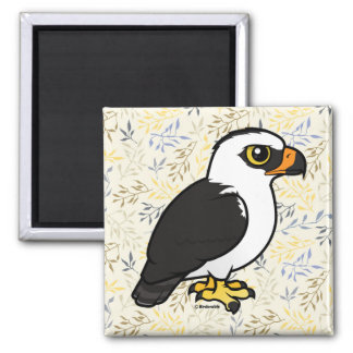 Birdorable Black-and-white Hawk-Eagle Magnet