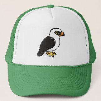 Birdorable Black-and-white Hawk-Eagle Trucker Hat