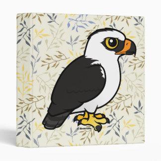 Birdorable Black-and-white Hawk-Eagle Vinyl Binder