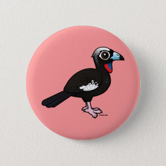 Birdorable Black-fronted Piping Guan 2 Inch Round Button