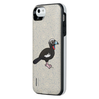 Birdorable Black-fronted Piping Guan iPhone SE/5/5s Battery Case