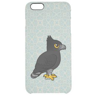 Birdorable Black Hawk-Eagle Clear iPhone 6 Plus Case