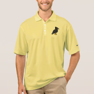 Birdorable Black Hawk-Eagle Polo Shirt