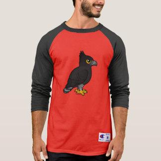 Birdorable Black Hawk-Eagle T-Shirt