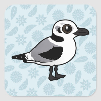 Birdorable Black-legged Kittiwake juvenile Square Sticker
