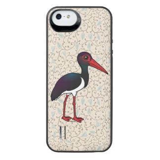 Birdorable Black Stork iPhone SE/5/5s Battery Case