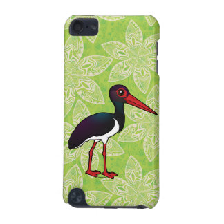 Birdorable Black Stork iPod Touch 5G Cases