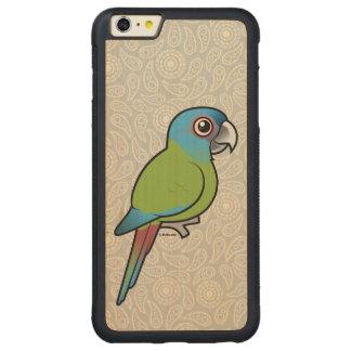 Birdorable Blue-headed Macaw Carved Maple iPhone 6 Plus Bumper Case