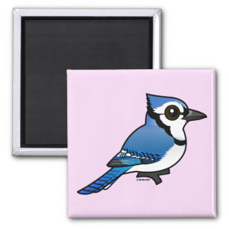 Birdorable Blue Jay Magnet