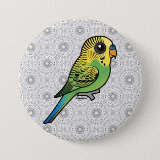 Birdorable Budgerigar 3 Inch Round Button